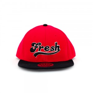 fresh-red-snapback